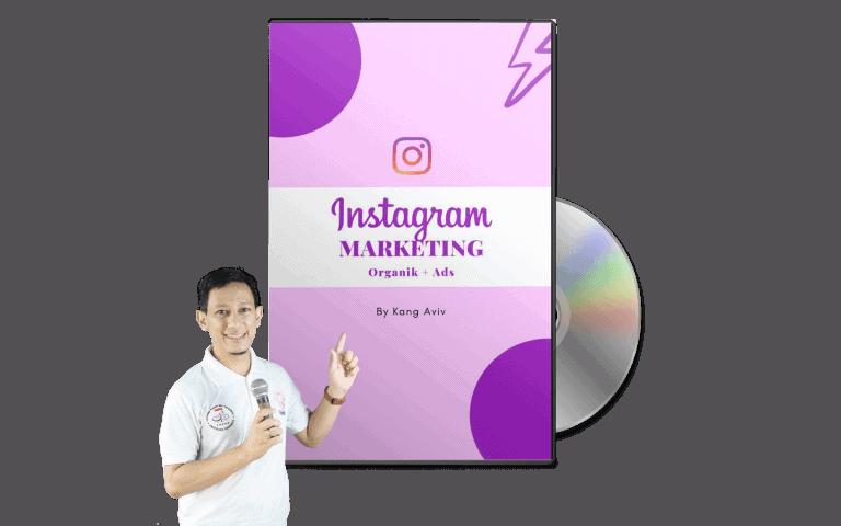 kelas optimalisasi instagram marketing