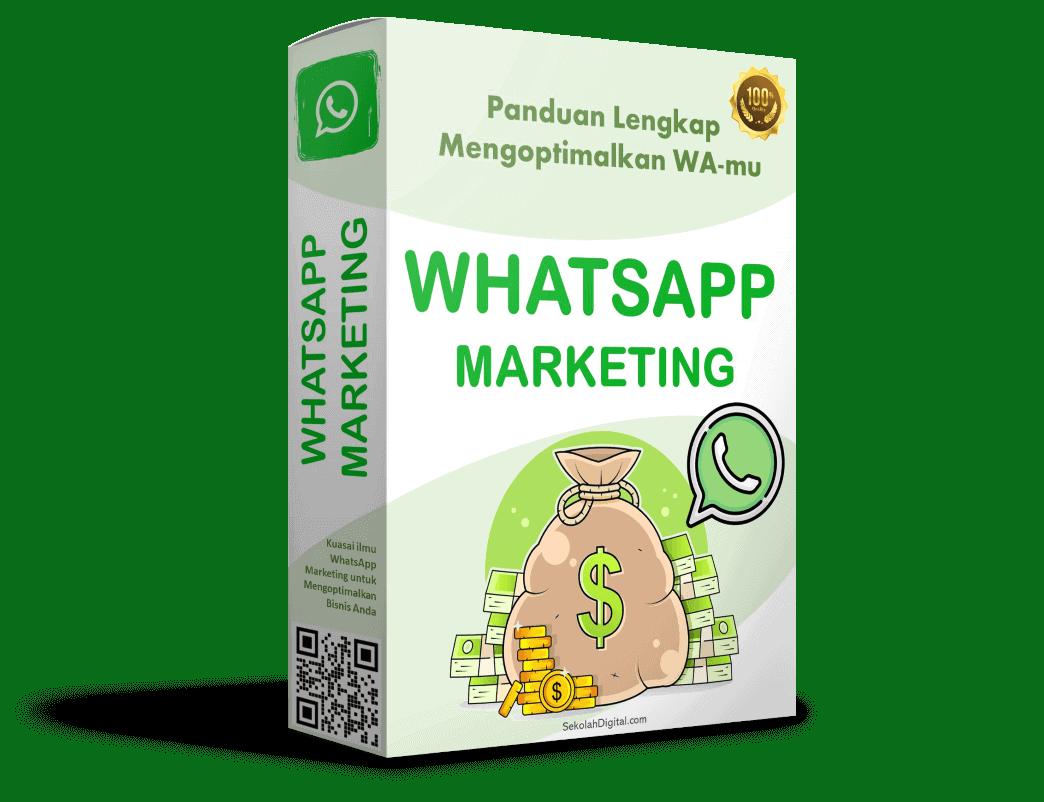 WhatsApp Marketing - sekolah digital